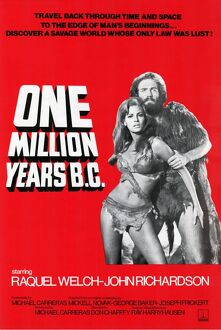 One Million Years B.C. One Sheet poster