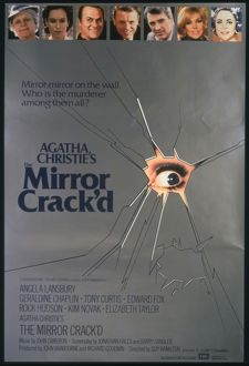 The Mirror Crack'd (1980) UK original release one-sheet