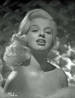 A portrait of Diana Dors