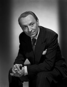 A portrait of William Hartnell