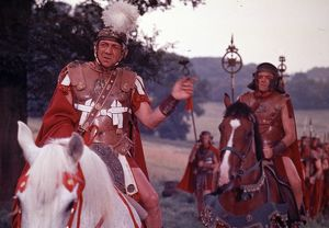 A production still image from Carry On Cleo (1964)