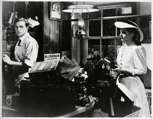 richard burton and andrea lea in a scene