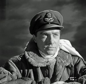 Richard Todd in a production still image for The Dam Busters (1955)