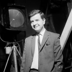 Rodney Bewes on the set of Billy Liar (1963)