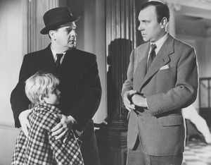 A scene from The Fallen Idol (1948) with Ralph Richardson
