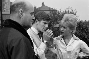 On the set of Billy Liar (1963)