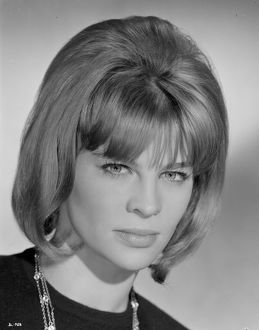 A stunning looking Julie Christie in a portrait to promote Billy Liar (1963)