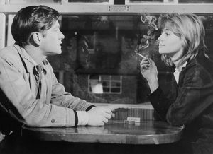 Tom Coutenay and Julie Christie