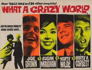 <b>WHAT A CRAZY WORLD (1963)</b><br>Selection of 9 items