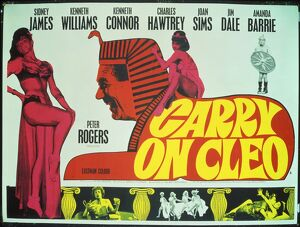 UK quad poster for Carry On Cleo (1965)