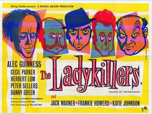 UK quad poster for The Ladykillers (1955)