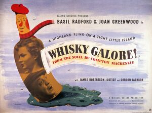 Whisky Galore! (1949) UK quad poster