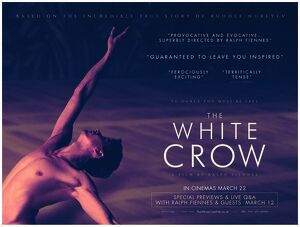 The White Crow UK teaser quad artwork poster